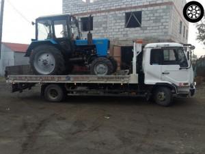 Услуги по перевозки тракторов и спецтехники в Новосибирске