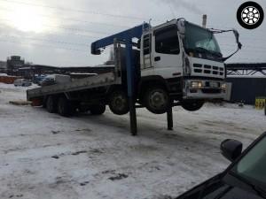 Услуги грузового эвакуатора в Новосибирске