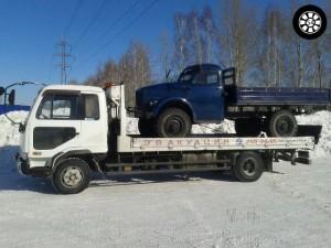 Услуги эвакуатора в Новосибирске грузовой