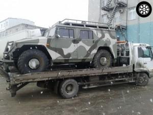 Услуги эвакуатора в Новосибирске