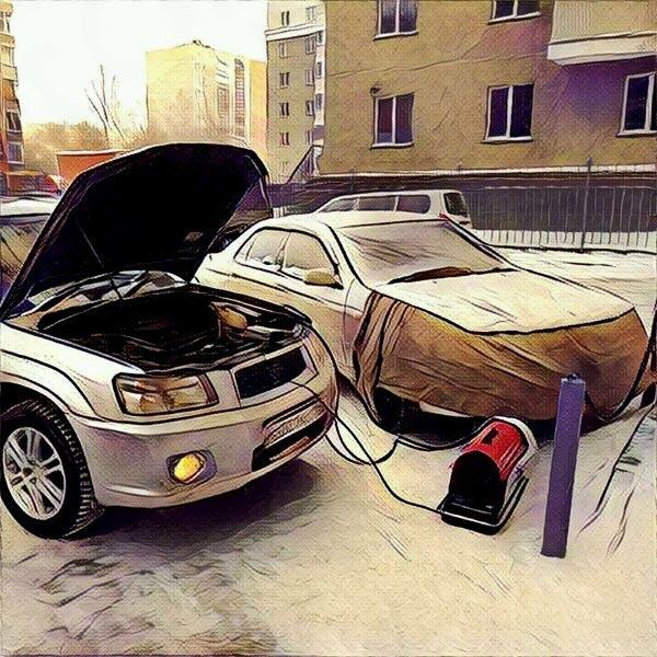 Отогрев авто в Новосибирске