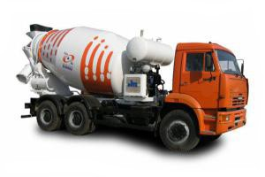 Доставка бетона и раствора миксером в Новосибирске
