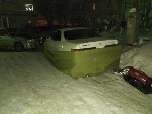 Отогрев выхлопной трубы Новосибирск